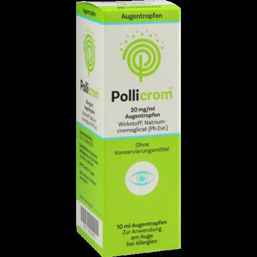 Verpackungsbild(Packshot) von POLLICROM 20 mg/ml Augentropfen