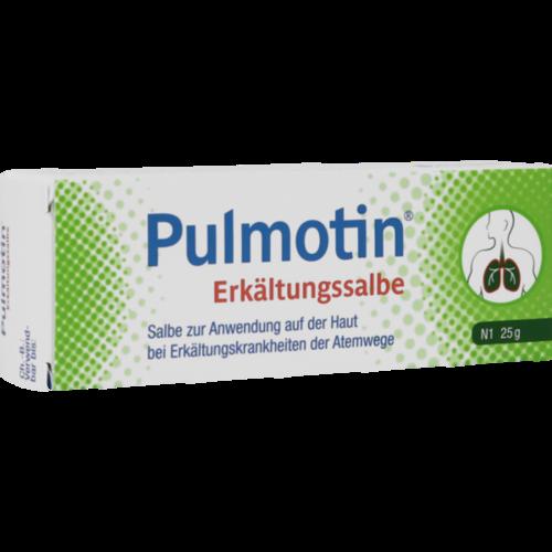 Verpackungsbild(Packshot) von PULMOTIN Erkältungssalbe
