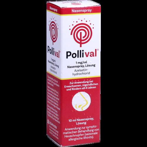 Verpackungsbild(Packshot) von POLLIVAL 1 mg/ml Nasenspray Lösung