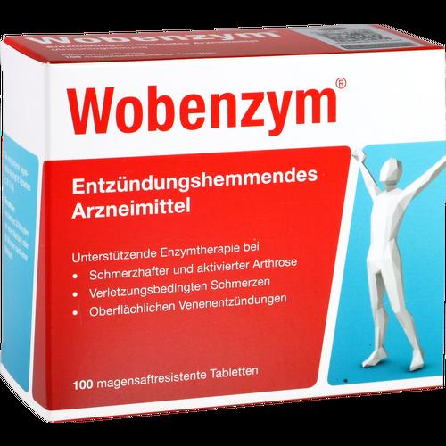 Verpackungsbild(Packshot) von WOBENZYM magensaftresistente Tabletten