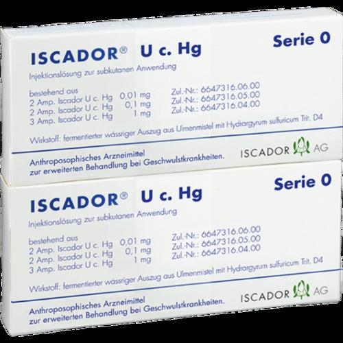 Verpackungsbild(Packshot) von ISCADOR U c.Hg Serie 0 Injektionslösung