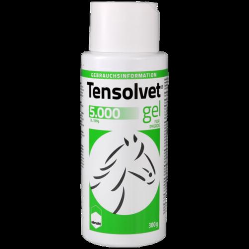 Verpackungsbild(Packshot) von TENSOLVET 5.000 I.E./100 g Gel f.Pferde