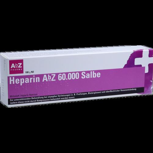 Verpackungsbild(Packshot) von HEPARIN AbZ 60.000 Salbe