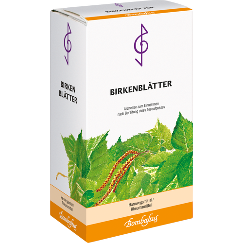 Verpackungsbild(Packshot) von BIRKENBLÄTTER Tee