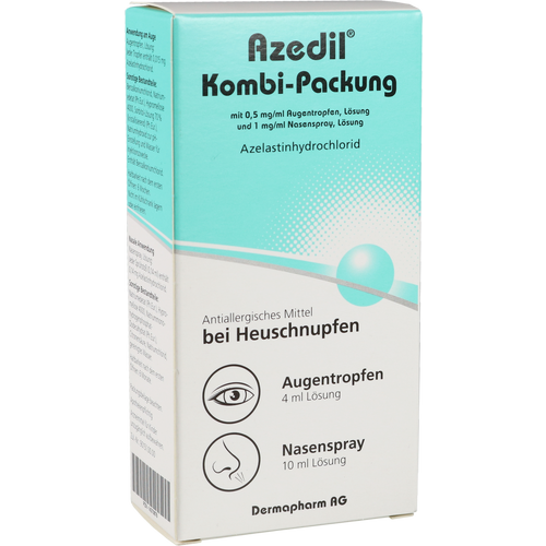 Verpackungsbild(Packshot) von AZEDIL Kombi-Packung 0,5mg/ml AT 1mg/ml Nasenspr.