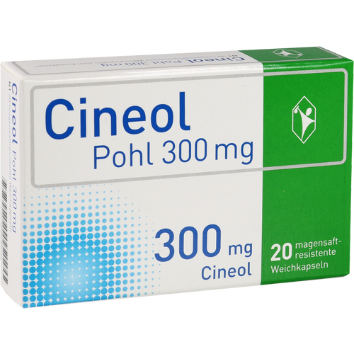 Verpackungsbild(Packshot) von CINEOL Pohl 300 mg magensaftres.Weichkapseln