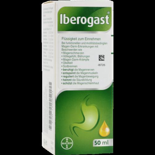 Verpackungsbild(Packshot) von IBEROGAST flüssig