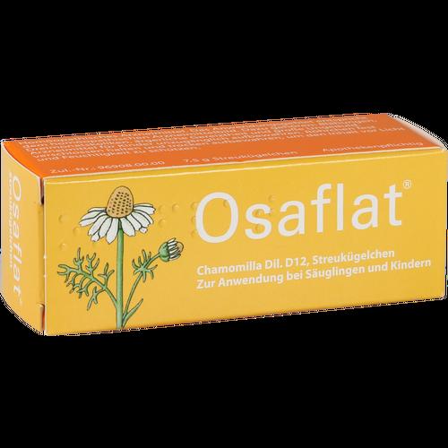 Verpackungsbild(Packshot) von OSAFLAT Globuli