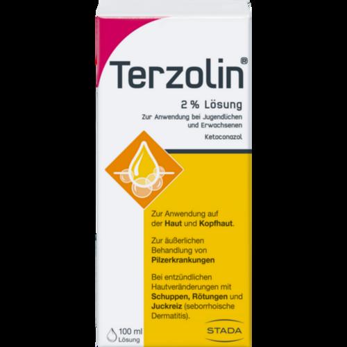 Verpackungsbild(Packshot) von TERZOLIN 2% Lösung