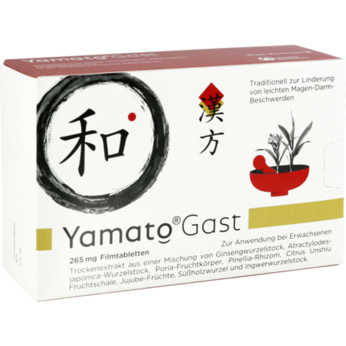 Verpackungsbild(Packshot) von YAMATOGAST 265 mg Filmtabletten