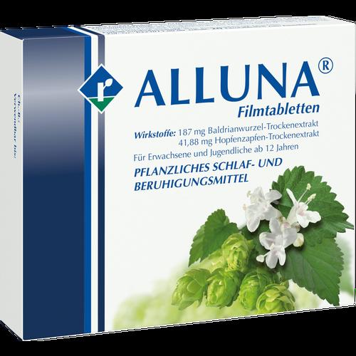 Verpackungsbild(Packshot) von ALLUNA Filmtabletten
