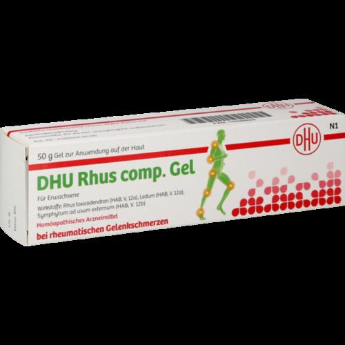 Verpackungsbild(Packshot) von RHUS COMP.Gel DHU