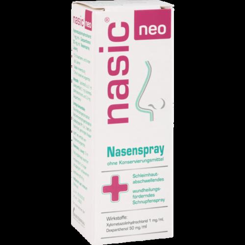 Verpackungsbild(Packshot) von NASIC neo Nasenspray
