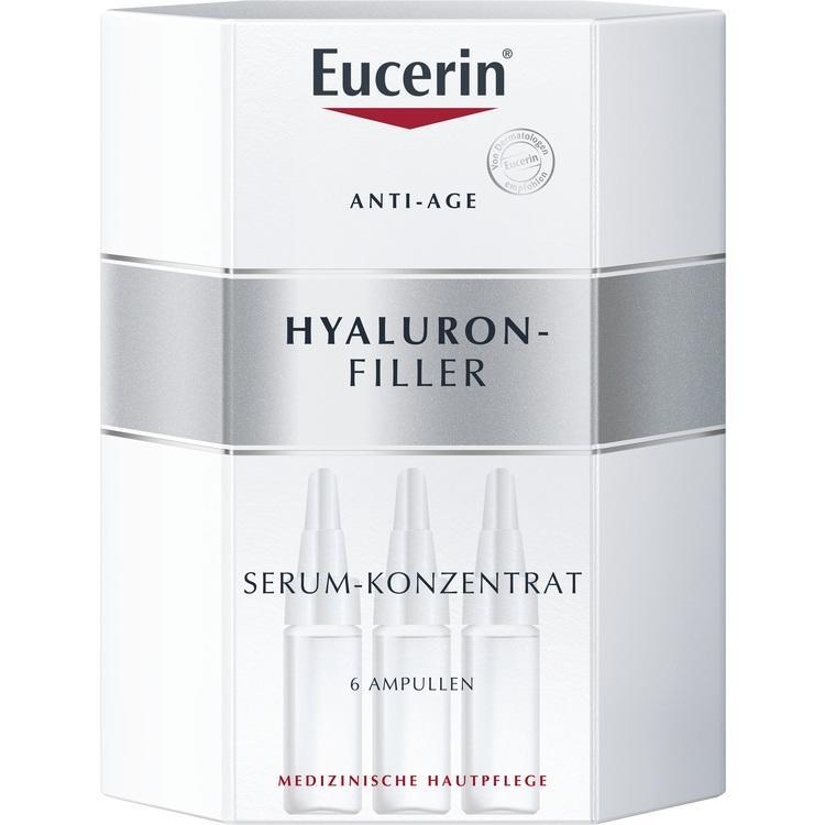 EUCERIN Anti-Age HYALURON-FILLER Serum-Konz.Amp. 6X5 ml