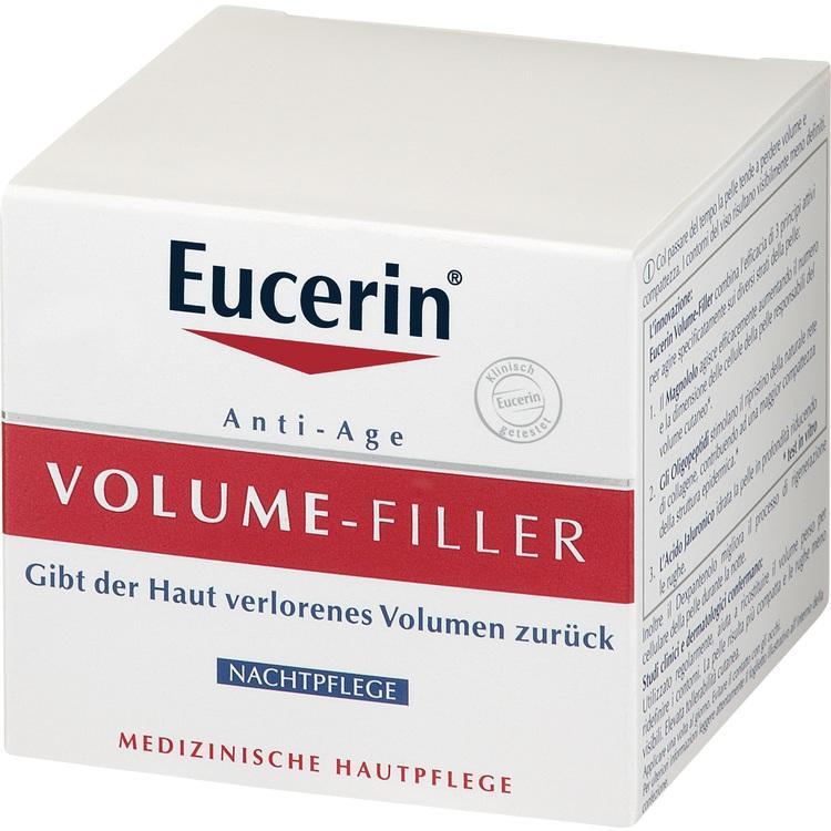 EUCERIN Anti-Age VOLUME-FILLER Nachtpflege Creme 50 ml