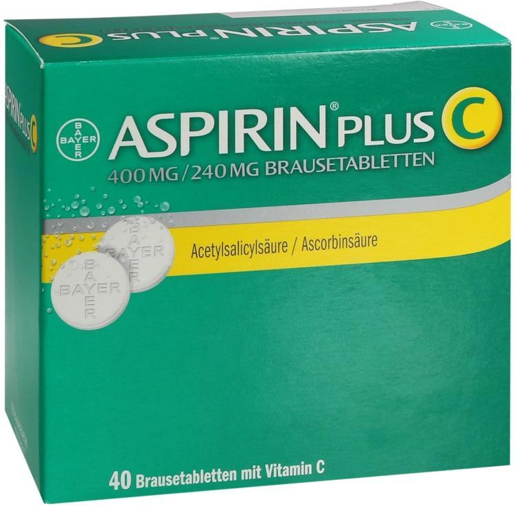 ASPIRIN plus C Brausetabletten 40 St