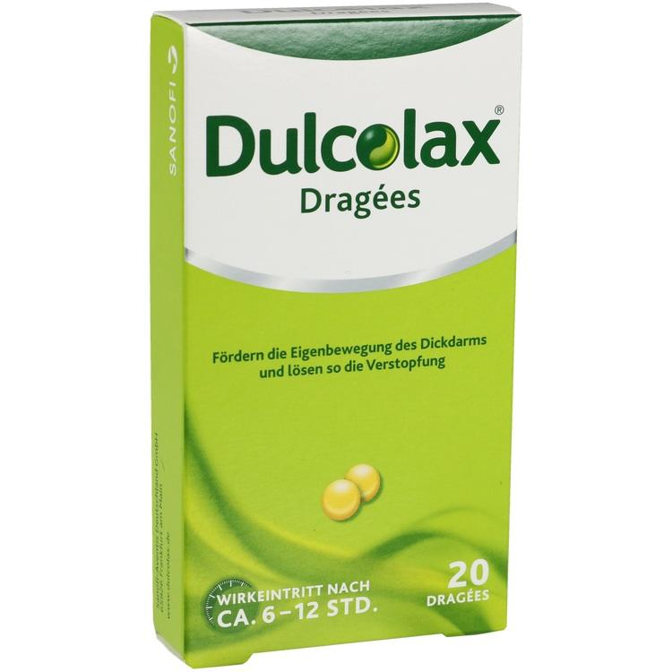 DULCOLAX Dragees magensaftresistente Tabletten 20 St
