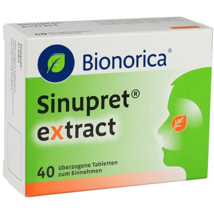 SINUPRET extract überzogene Tabletten 40 St