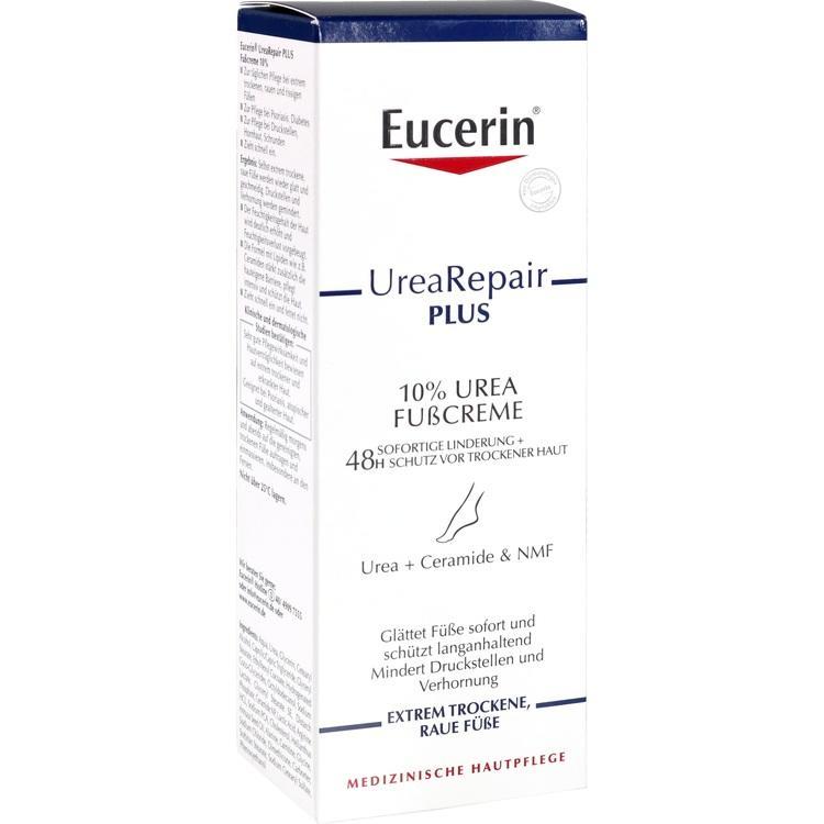 EUCERIN UreaRepair PLUS Fußcreme 10% 100 ml