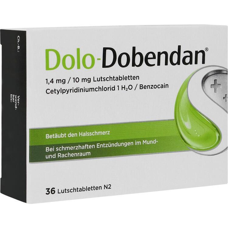 DOLO-DOBENDAN 1,4 mg/10 mg Lutschtabletten 36 St