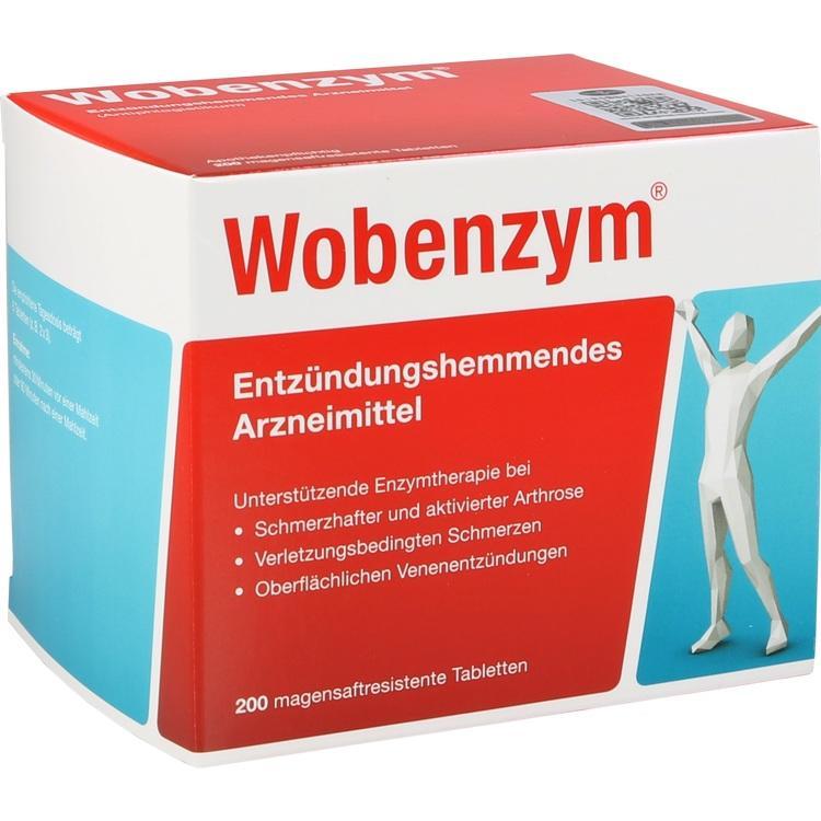 WOBENZYM magensaftresistente Tabletten 200 St