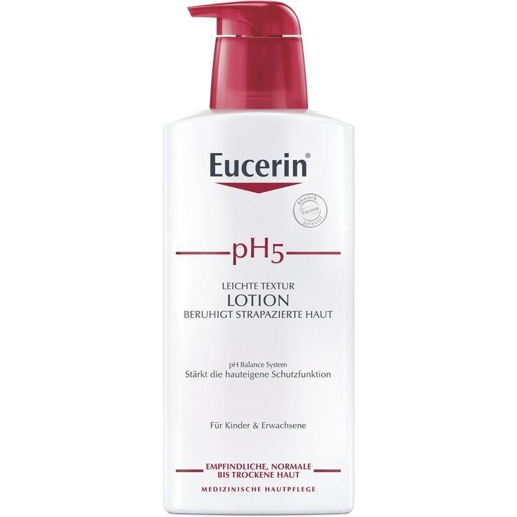 EUCERIN pH5 leichte Lotion empfindliche Haut 400 ml