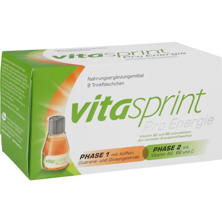 VITASPRINT Pro Energie Trinkfläschchen 8 St