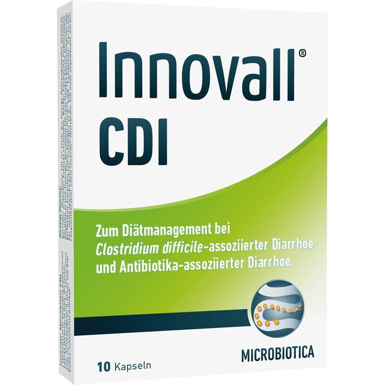 INNOVALL Microbiotic CDI Kapseln 10 St