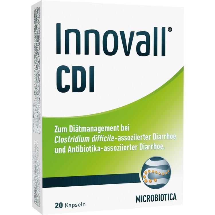 INNOVALL Microbiotic CDI Kapseln 20 St