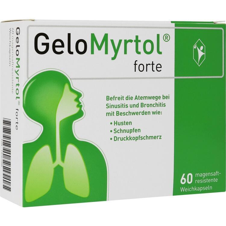 GELOMYRTOL forte magensaftresistente Weichkapseln 60 St