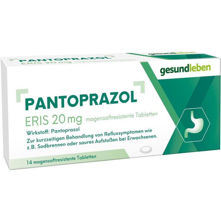 PANTOPRAZOL Eris 20 mg magensaftres.Tabletten 14 St